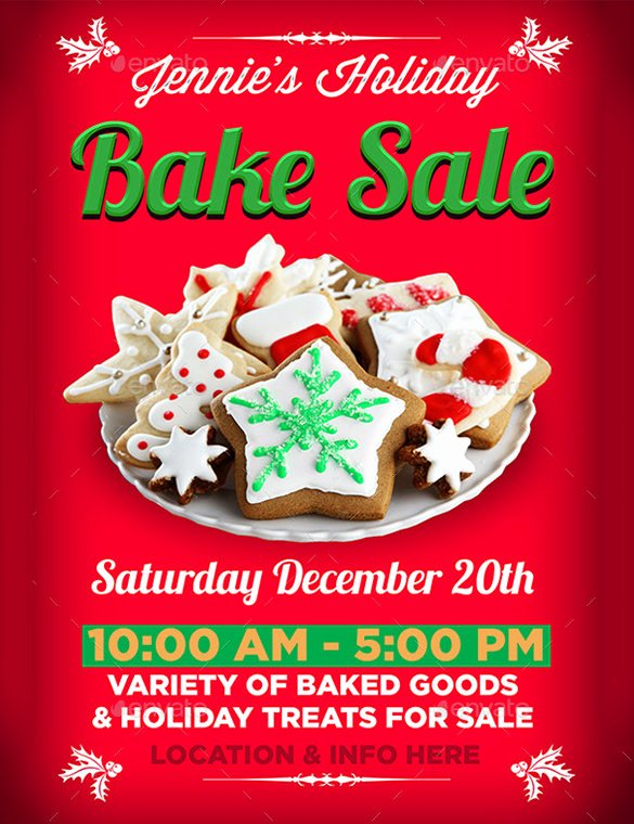 Bake Sale Flyer Template Fresh 34 Bake Sale Flyer Templates Free Psd Indesign Ai