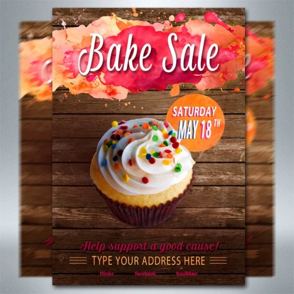 Bake Sale Flyer Template Inspirational 32 Bake Sale Flyer Templates Ai Psd Publisher