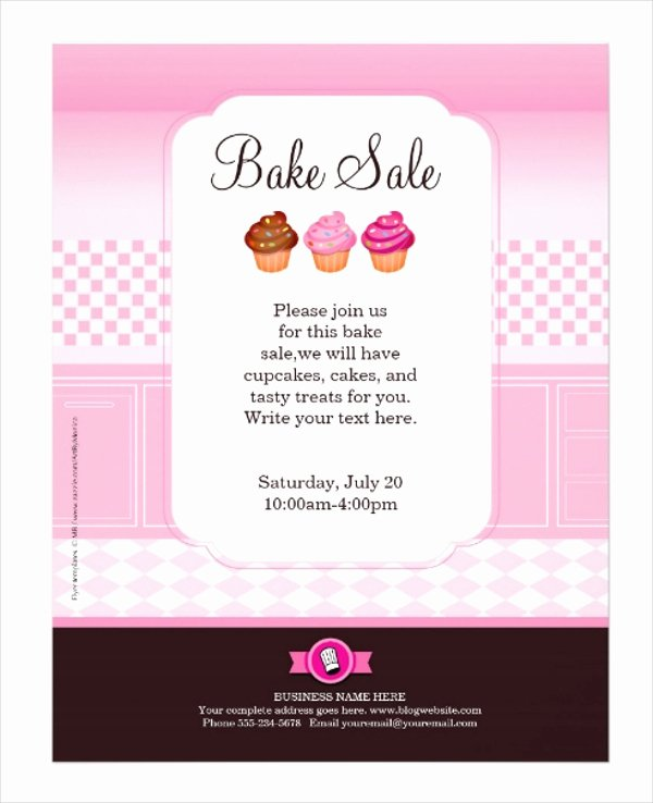 Bake Sale Flyer Template Lovely 23 Professional Flyer Templates Free Psd Eps Ai
