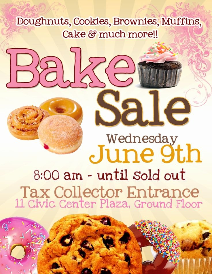 Bake Sale Flyer Template Lovely Best 25 Bake Sale Flyer Ideas On Pinterest