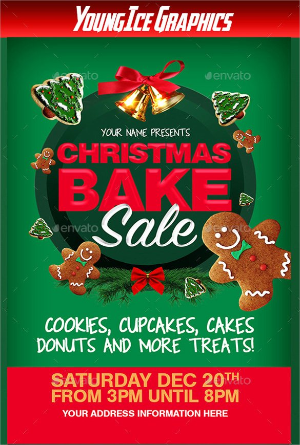 Bake Sale Flyer Template Luxury 20 Bake Sale Flyer Templates