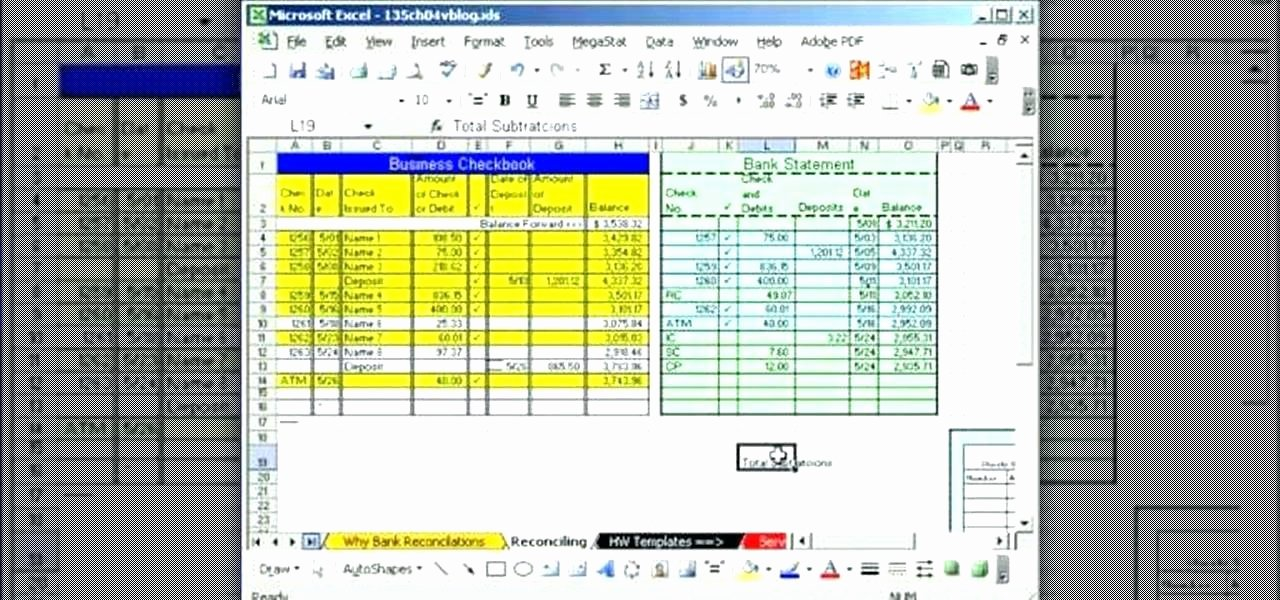 Bank Reconciliation Template Excel Luxury How to Do Bank Reconciliation In Excel A Fice Learn