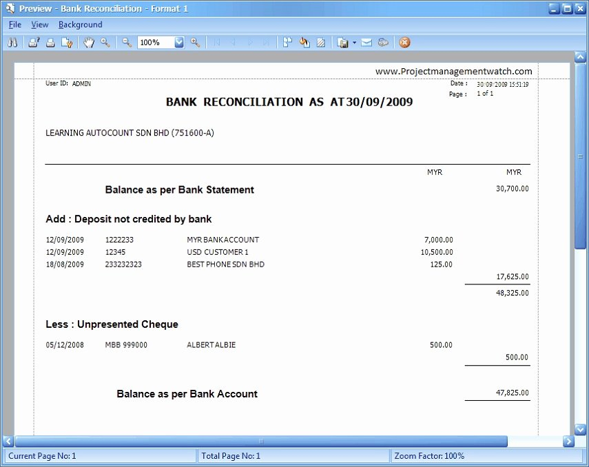 Bank Statement Reconciliation Template Inspirational Bank Reconciliation Statement Templates In Excel
