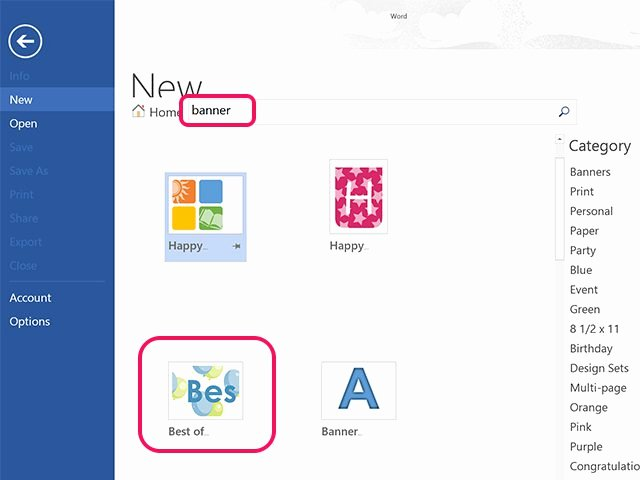 Banner Template for Word New How to Make A Banner In Microsoft Word