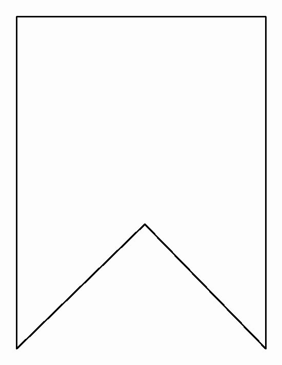 Banner Template for Word Unique Square Bunting Pattern Use the Printable Outline for