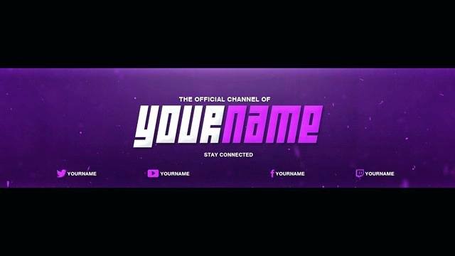 Banner Template No Text Awesome 5 Channel Art Banner 2560×1440 Youtube Template Download