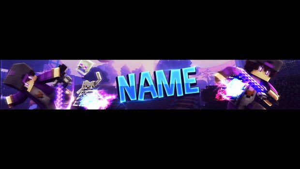 Banner Template No Text Best Of Free Minecraft Youtube Banner Template Purple