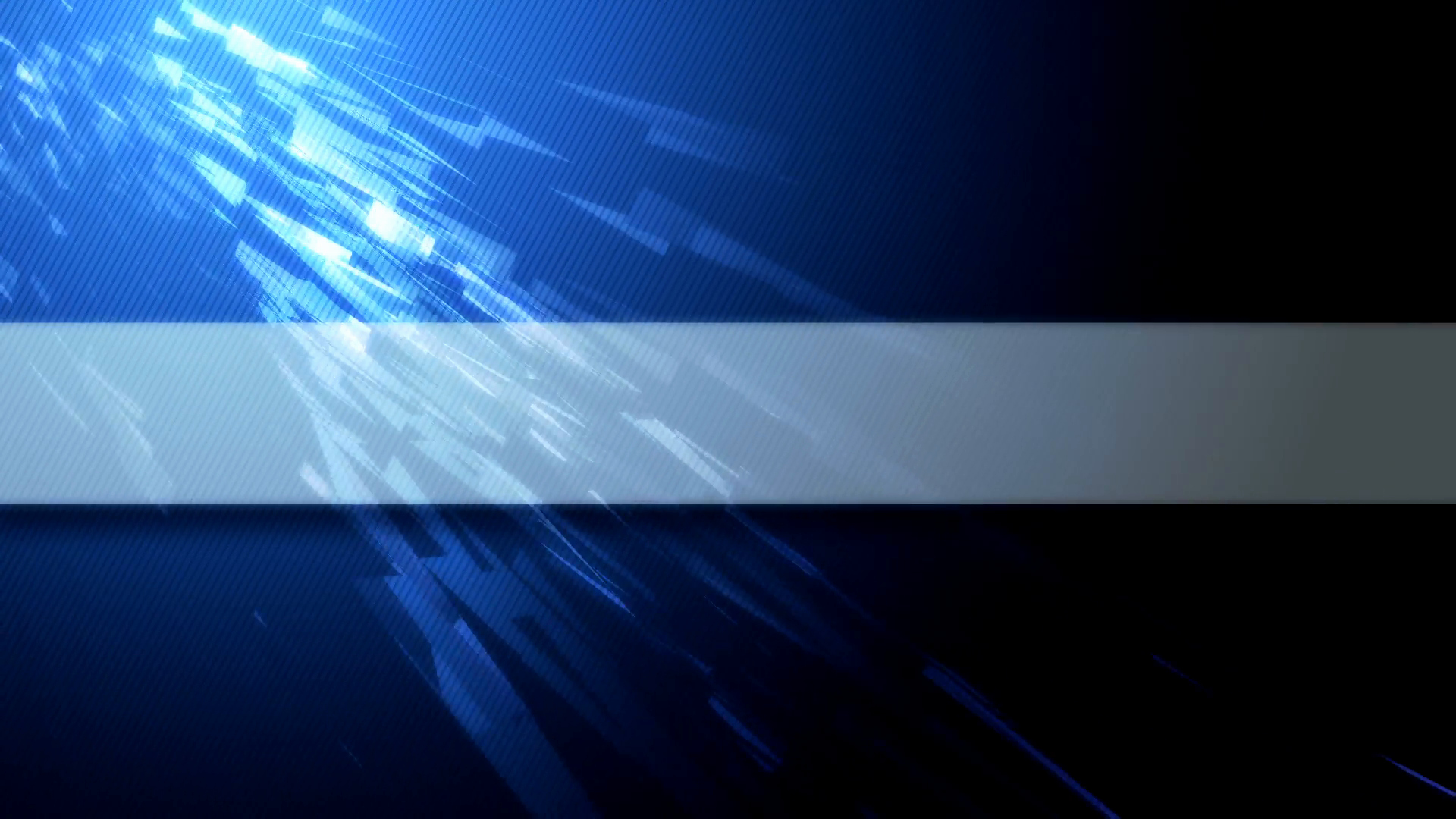 Banner Template No Text Fresh Blue Abstract Video Background with Copy Space for Your