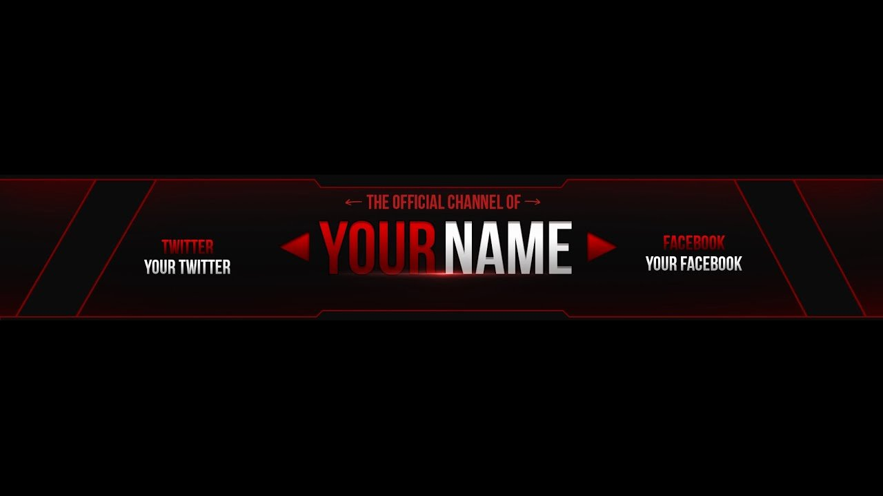 Banner Template No Text Fresh Free Youtube Banner Template Edit Cs6 1