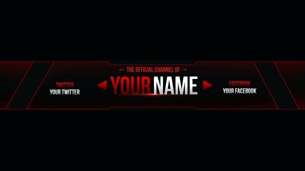 Banner Template No Text Lovely Gaming Banner Template Clean Youtube No Text 2048×1152 Tem