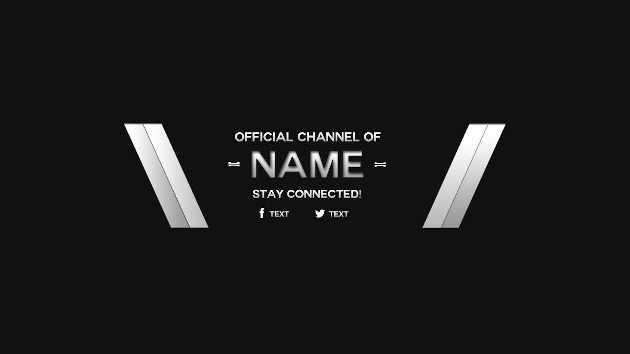 Banner Template No Text New 2014 Youtube Banner Template Download