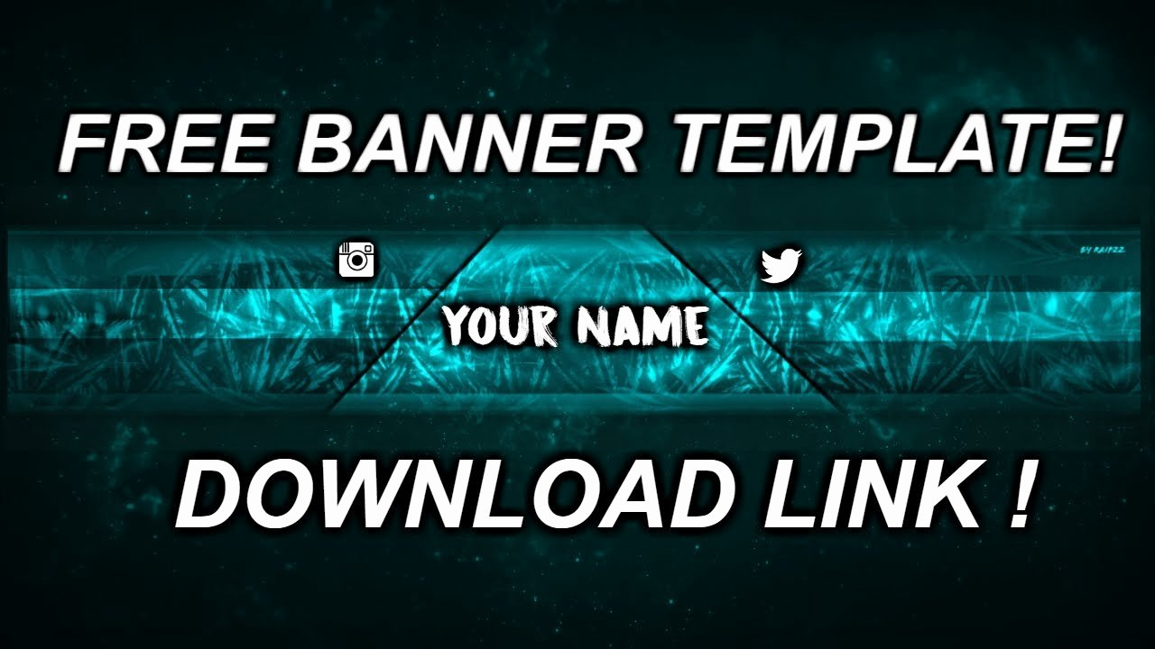 Banner Template No Text New Youtube Banner Template No Text for Free [link In