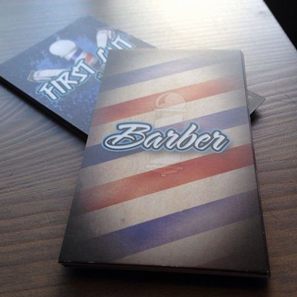 Barber Business Card Template Awesome 20 Creative Examples Of Barbershop Business Card Design