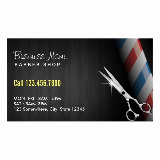 Barber Business Card Template Best Of Barber Business Card Templates Page2