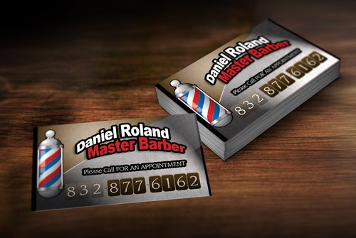 Barber Business Card Template Best Of Barber Girl S กรกฎาคม 2013