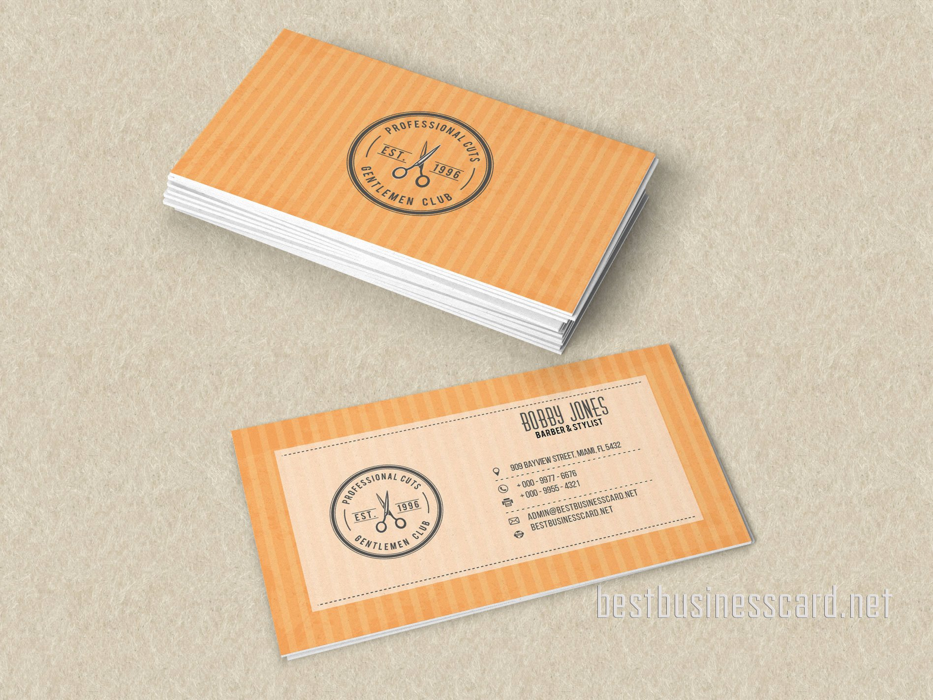 Barber Business Card Template Best Of Best Barber Business Card