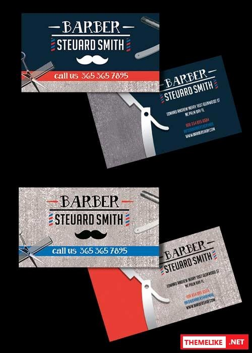 Barber Business Card Template Best Of Coffee Shop Premium Business Card Psd V2 Template All