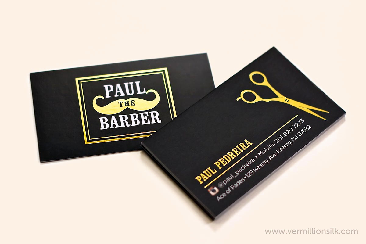 Barber Business Card Template Inspirational top 27 Professional Barber Business Cards Tips & Examples
