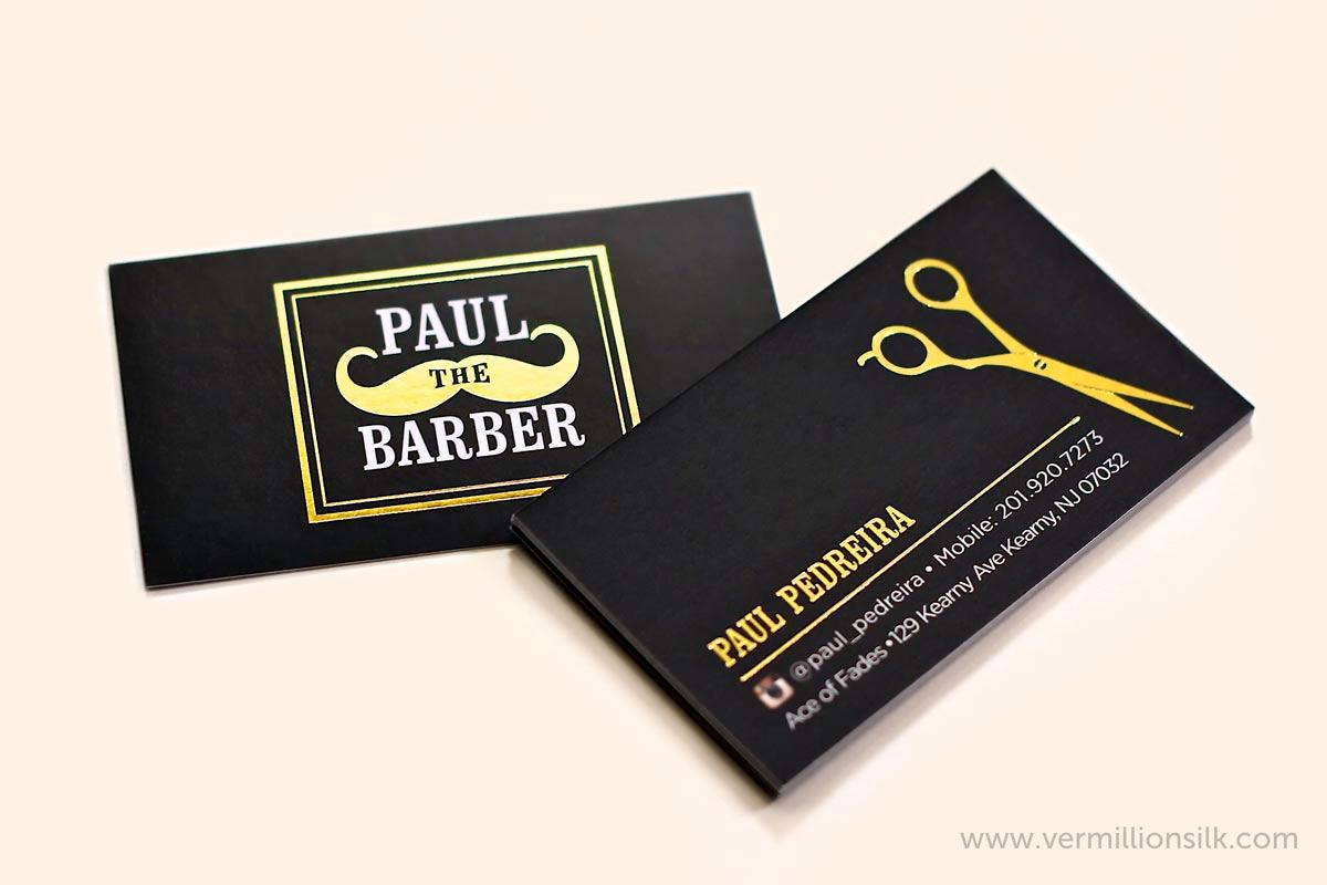 Barber Business Card Template Inspirational top 27 Professional Barber Business Cards Tips & Examples