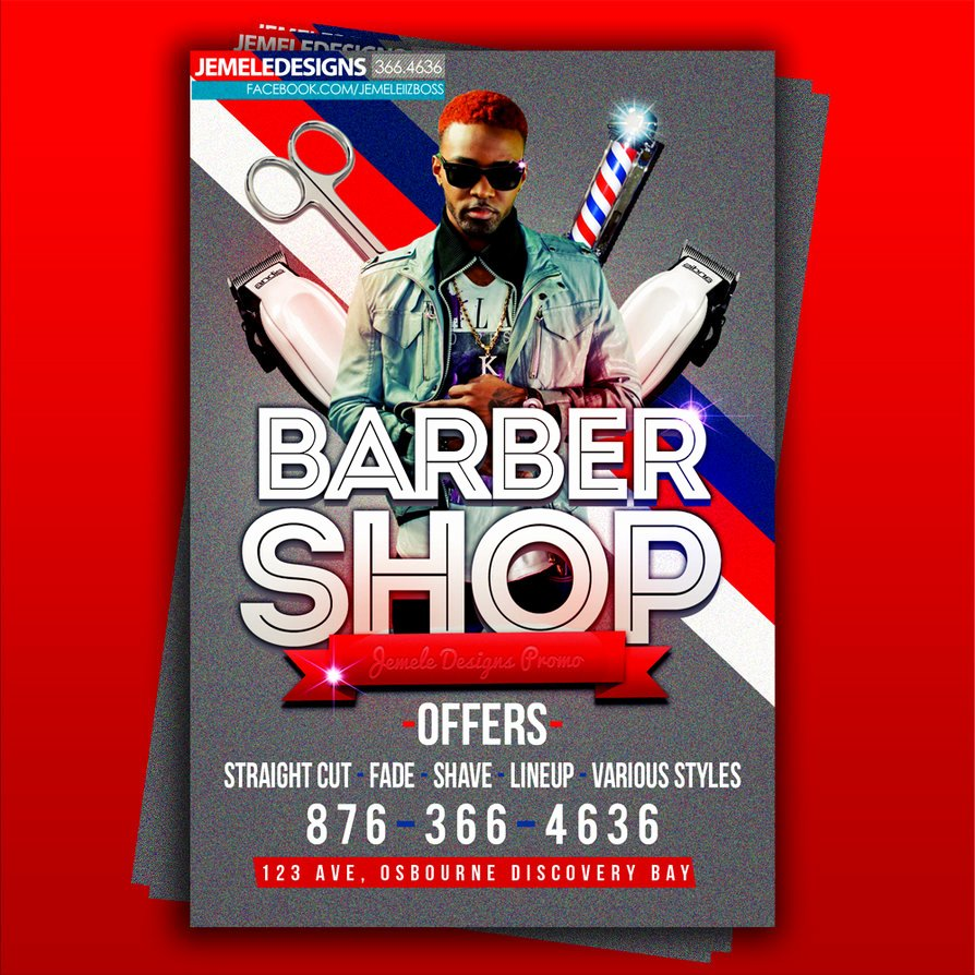 Barber Shop Flyers Template Beautiful Barber Shop Flyer by Jemeleiizboss On Deviantart