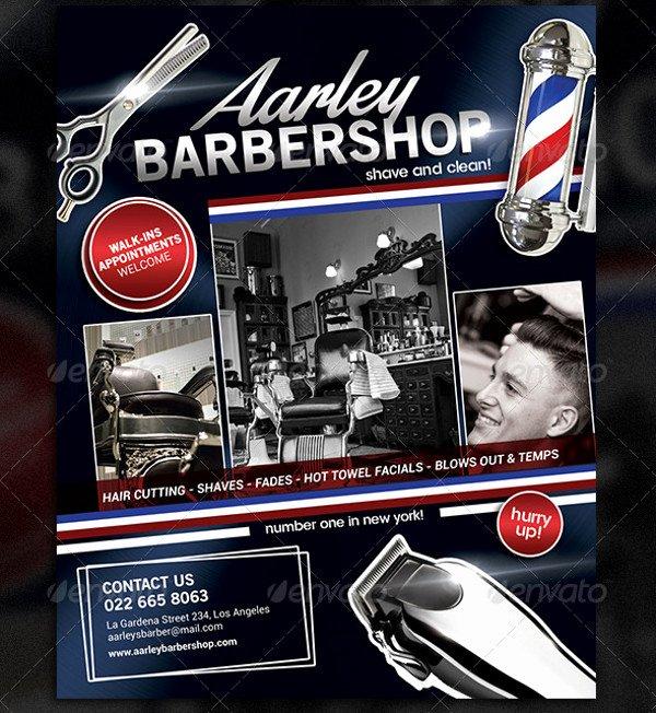 Barber Shop Flyers Template Best Of 27 Barbershop Flyer Template Psd Vector Eps Jpg