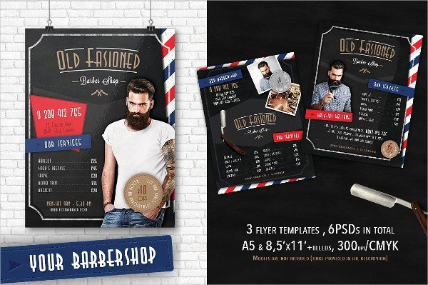Barber Shop Flyers Template Fresh 27 Barbershop Flyer Templates Free & Premium Download