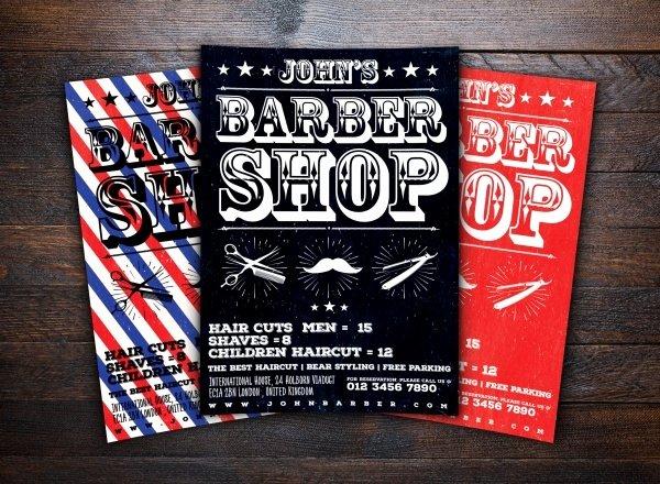 Barber Shop Flyers Template Inspirational 27 Barbershop Flyer Psd Vector Eps Jpg Download