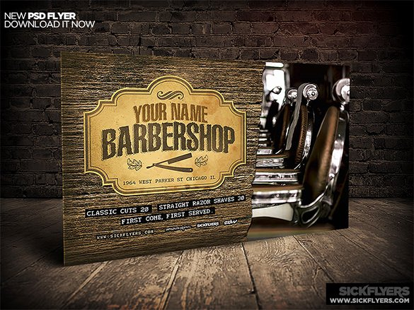 Barber Shop Flyers Template Luxury 22 Best Barbershop Flyer Templates & Designs Psd Ai