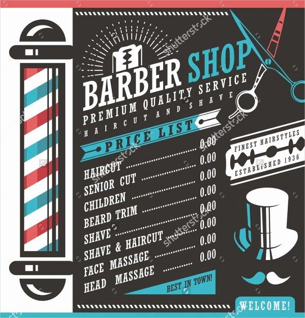 Barber Shop Flyers Template Luxury 27 Barbershop Flyer Templates Free & Premium Download