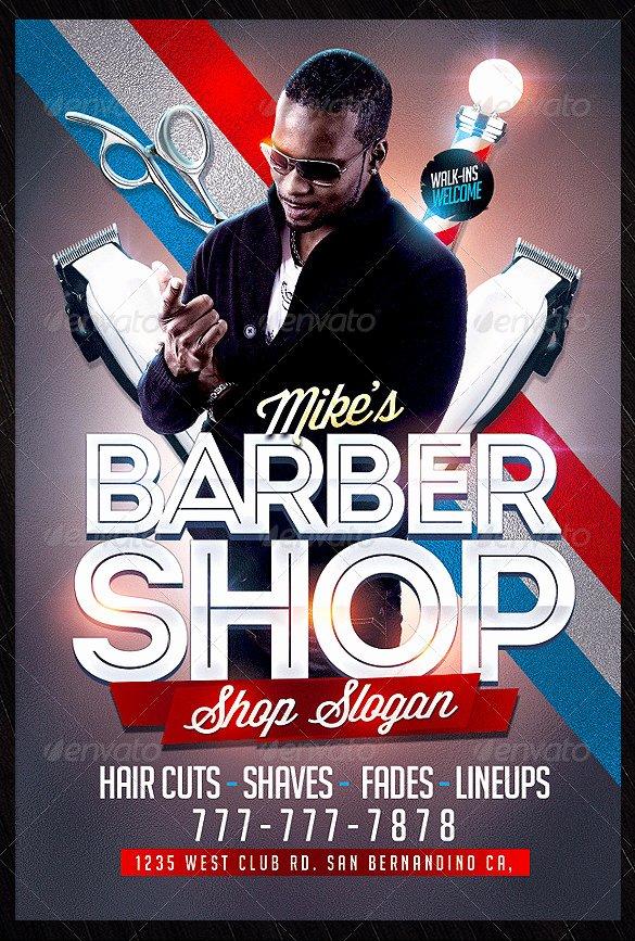 Barber Shop Flyers Template New 22 Best Barbershop Flyer Templates & Designs Psd Ai