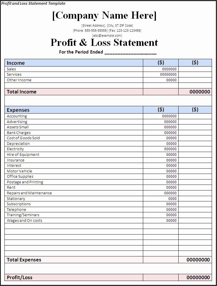 Basic Income Statement Template Beautiful Basic In E Statement Template Excel Spreadsheet Daykem