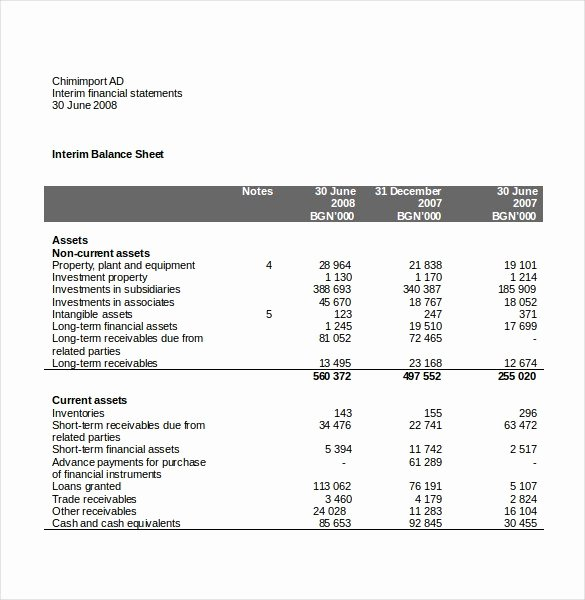 Basic Income Statement Template Elegant 15 Free In E Statement Templates Word Excel
