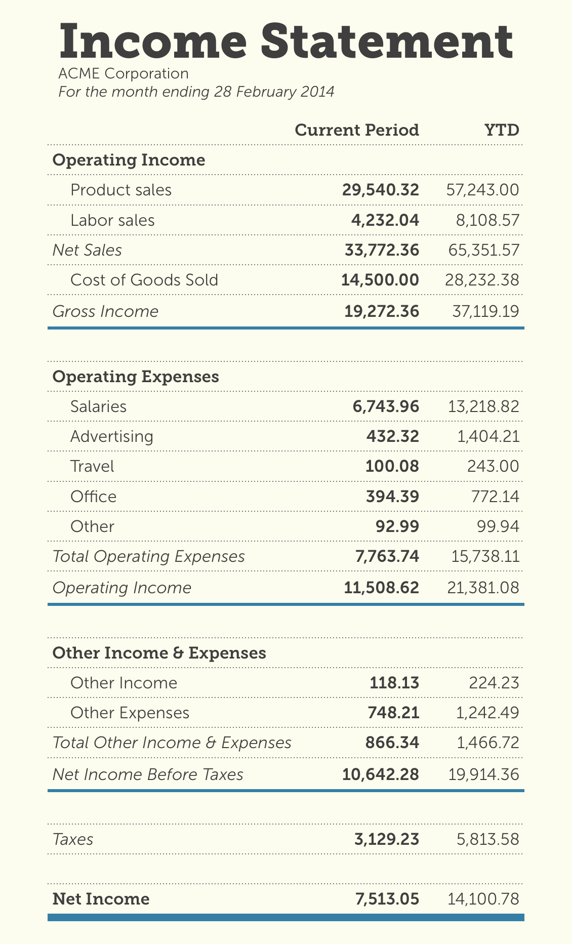 Basic Income Statement Template New Basic Profit and Loss Template Mughals