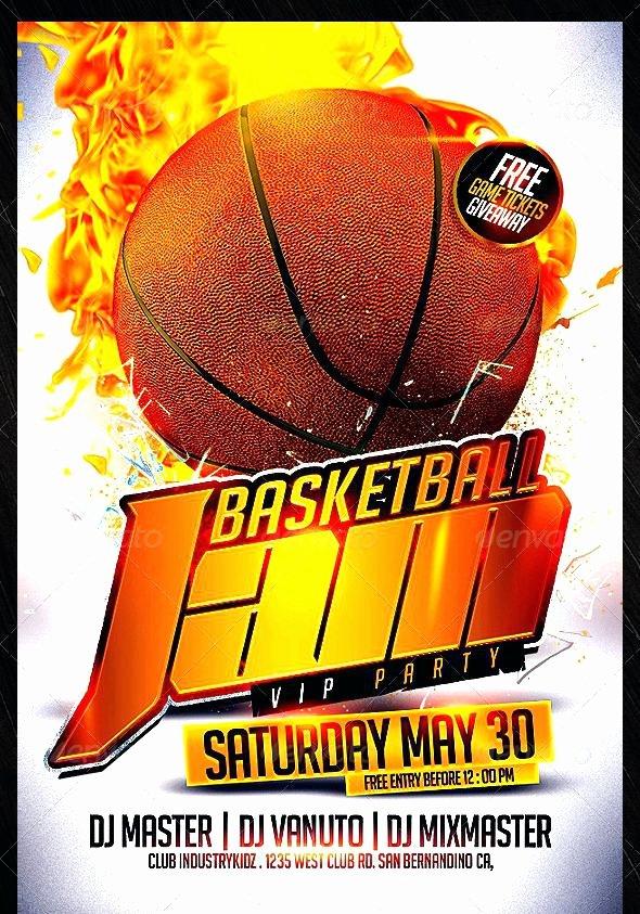 Basketball Camp Flyer Template Awesome Basketball tournament Flyer Template – Btcromaniafo