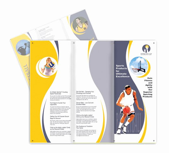 Basketball Camp Flyer Template Best Of Sports Basketball Games Brochure Templates
