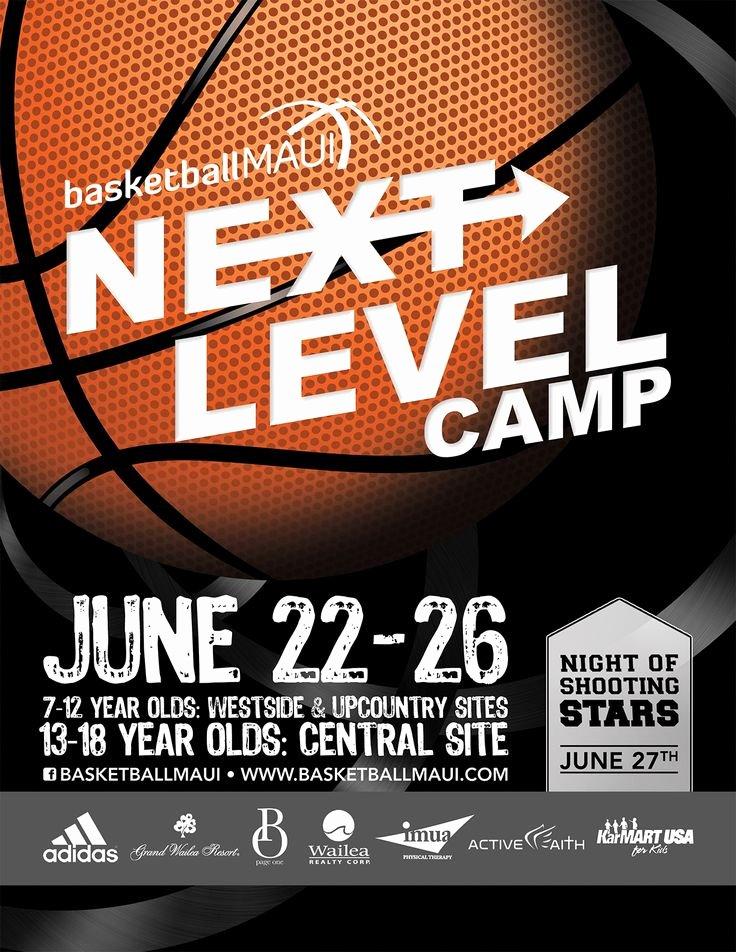 Basketball Camp Flyer Template Elegant Flyer Design for Kids Basketball Camp Designed by