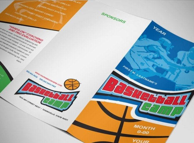 Basketball Camp Flyer Template Fresh Document Moved