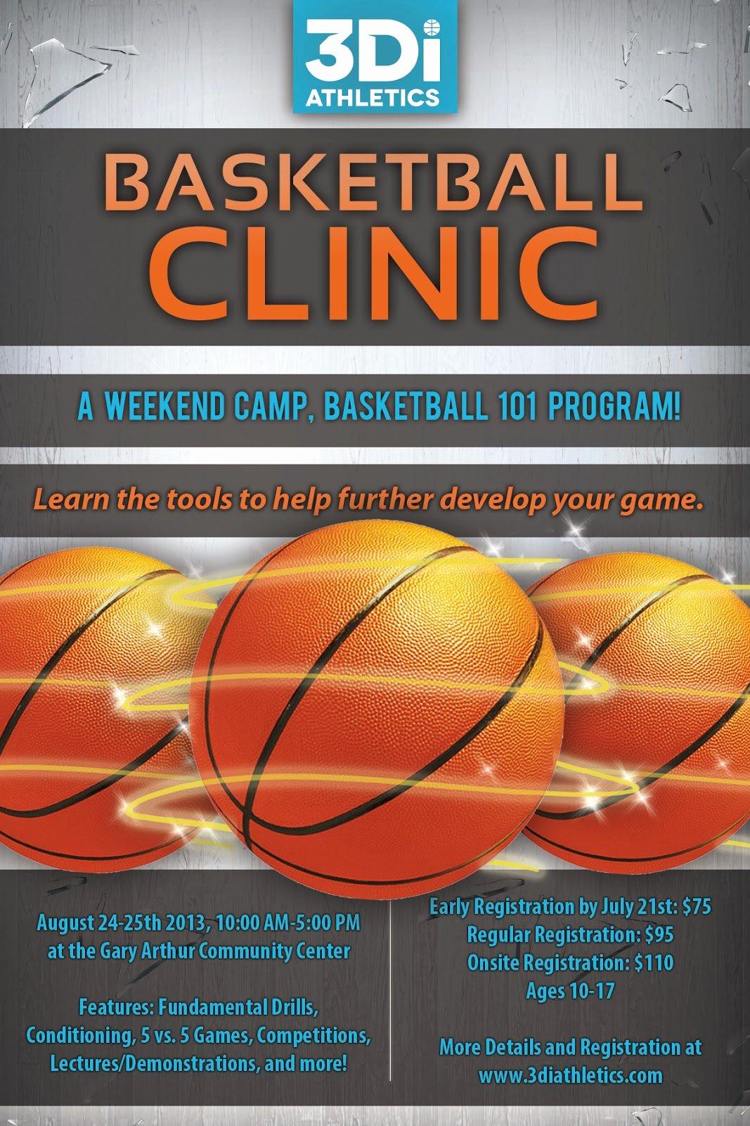 Basketball Camp Flyer Template Inspirational Ilia Munity Postings July 2013