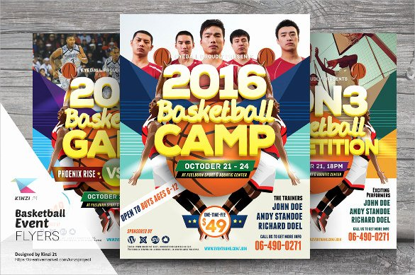 Basketball Camp Flyer Template Lovely 24 Basketball Flyer Templates to Download