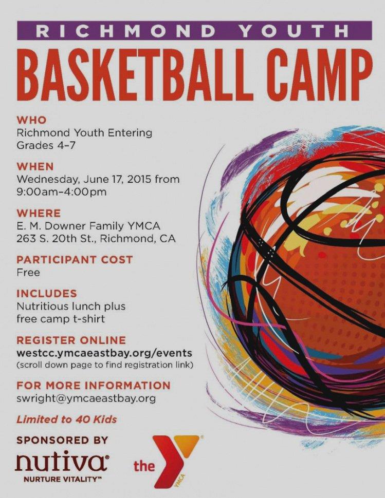Basketball Camp Flyer Template Lovely Exelent Pamphlet Sample Ensign Administrative Ficer