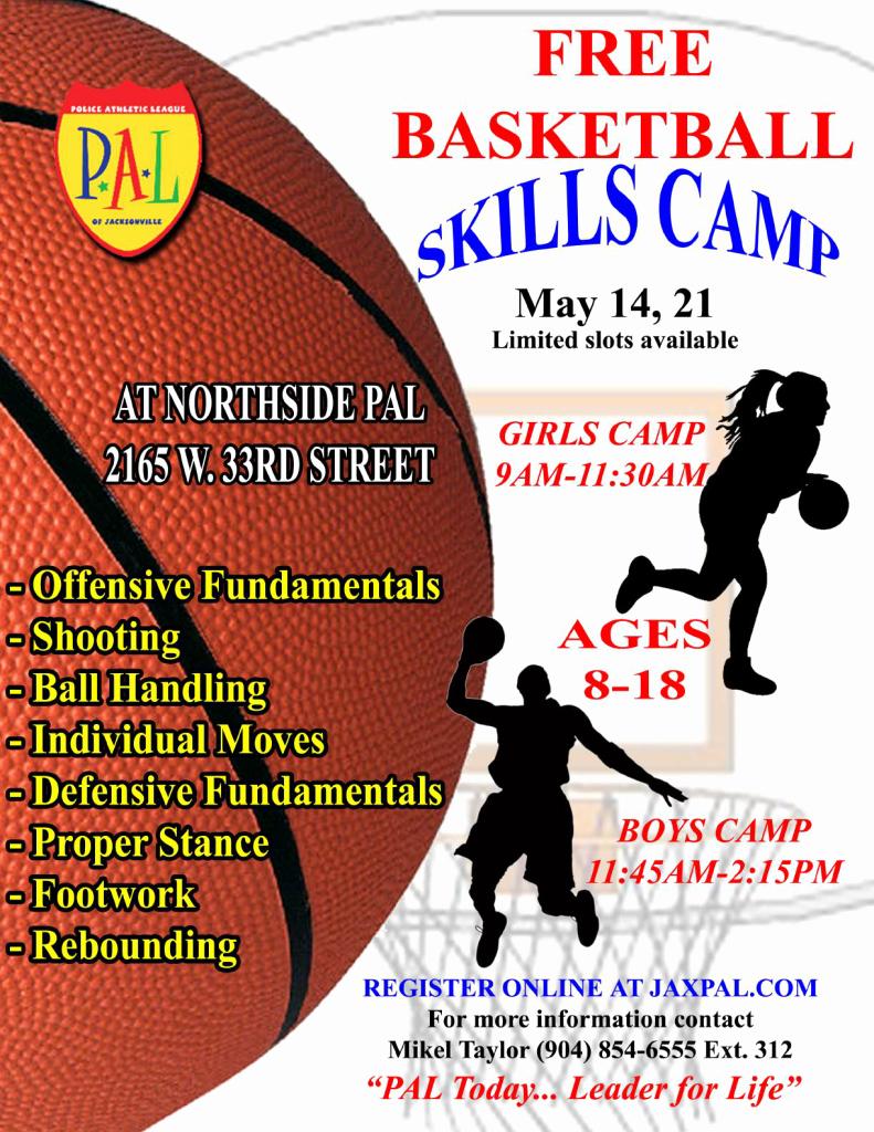 Basketball Camp Flyer Template Lovely Jaxpal Basketball Skills Camp