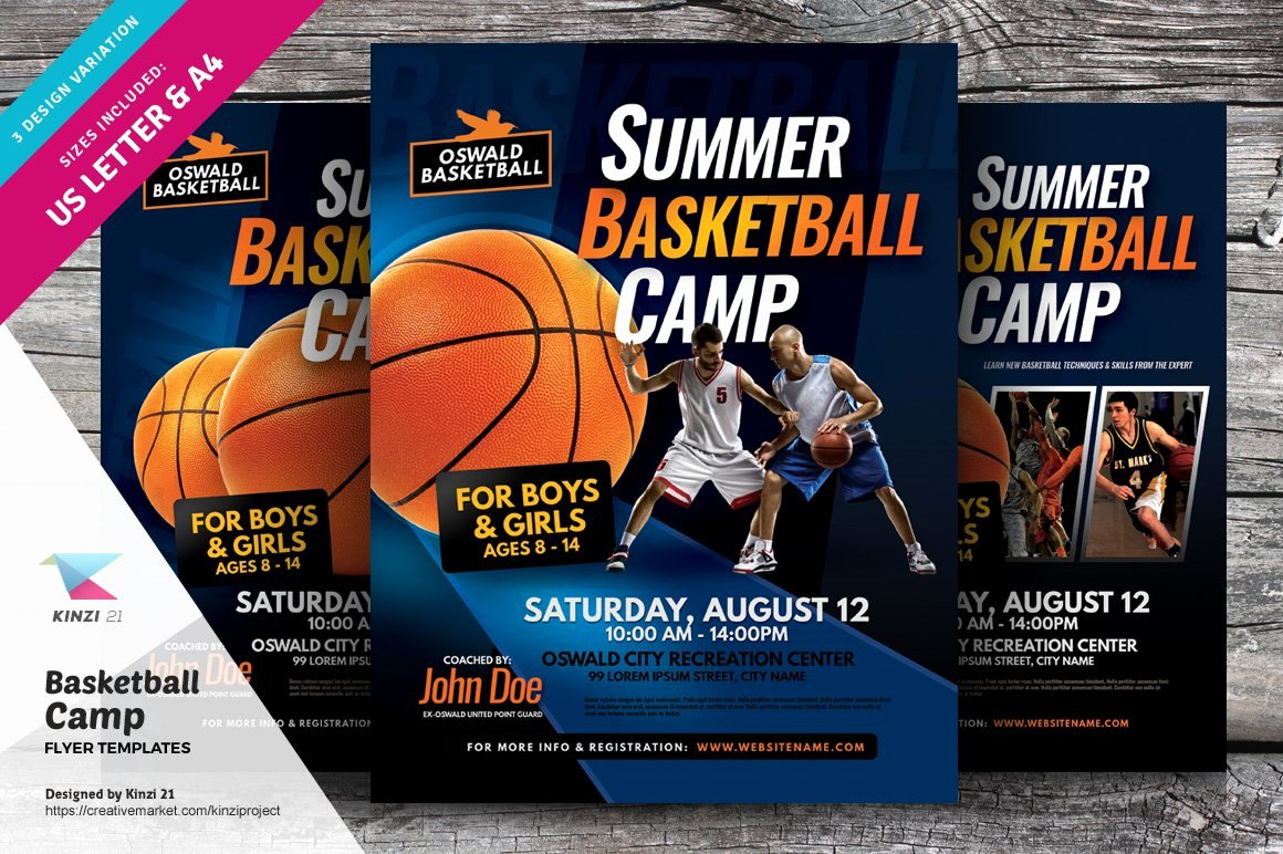 Basketball Camp Flyer Template Luxury Basketball Camp Flyer Templates Flyer Templates