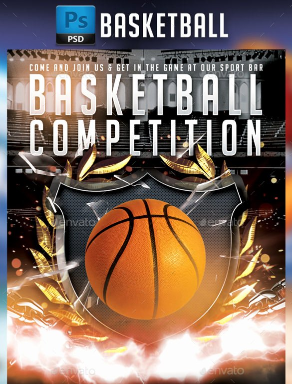 Basketball Camp Flyer Template New 24 Basketball Flyer Templates to Download