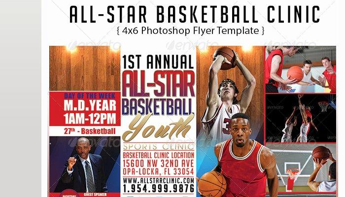 Basketball Camp Flyer Template New 5 Basketball tournament Flyer Templates