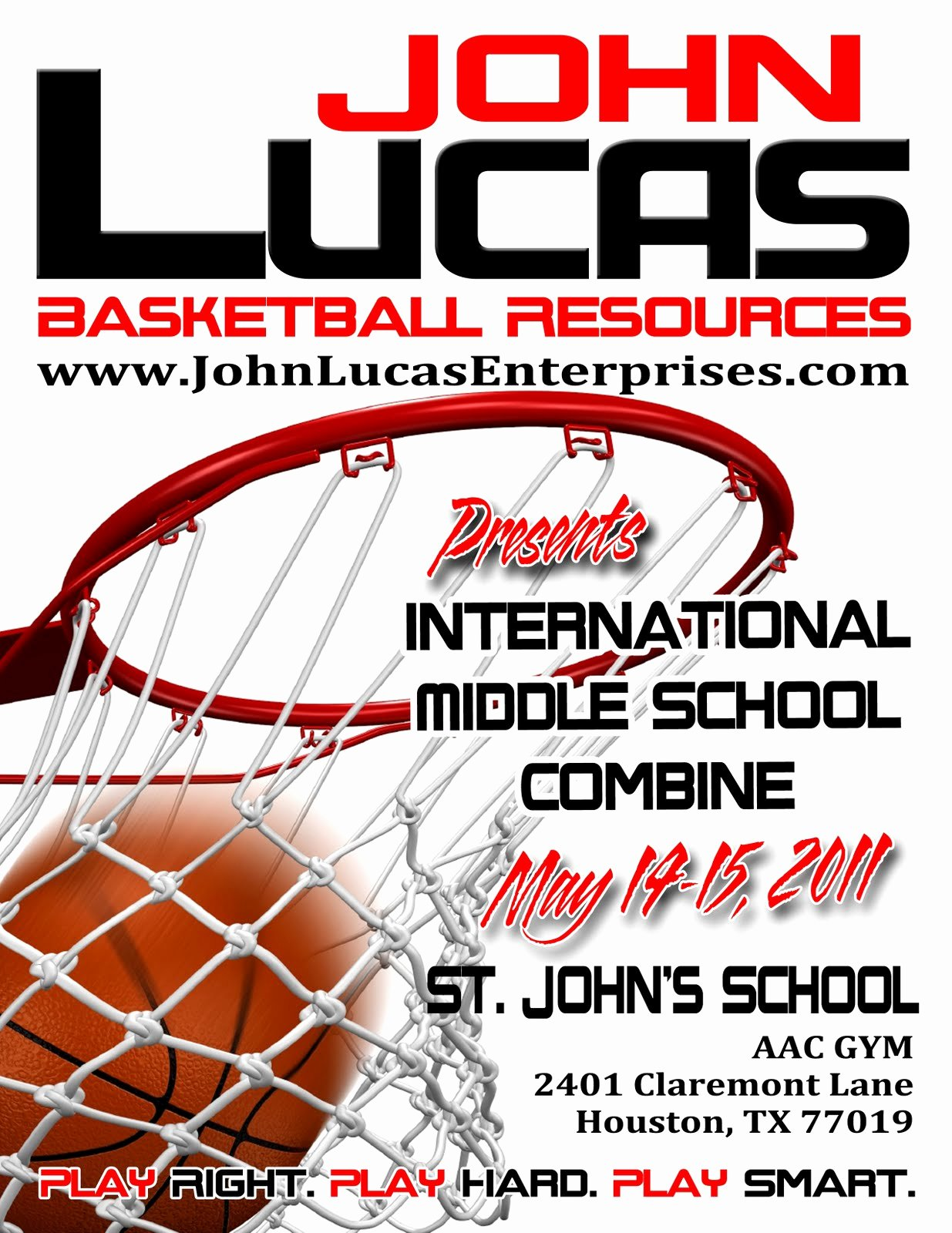 Basketball Camp Flyer Template New Basketball Spotlight Headed to J with Customizable Design