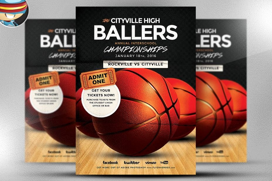 Basketball Camp Flyer Template Unique 15 Basketball Flyer Template Psd for tournament Camp and