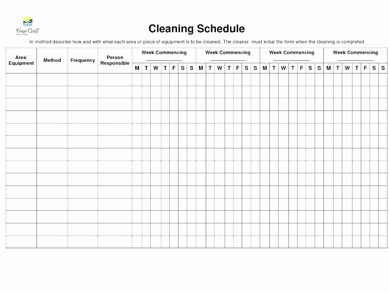 monthly chore charts printable house cleaning template