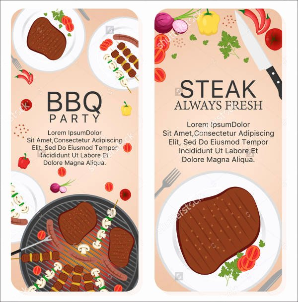 Bbq Catering Menu Template Awesome 7 Bbq Restaurant Menu Templates Designs Templates