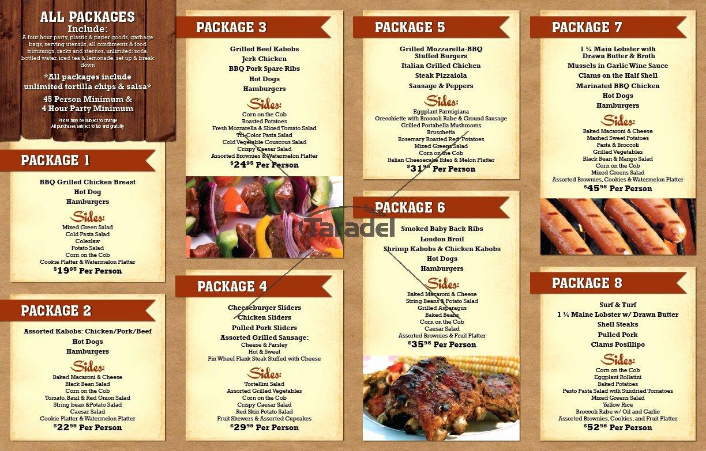 Bbq Catering Menu Template Inspirational 3 Best Of Bbq Restaurant Design Ideas Bbq