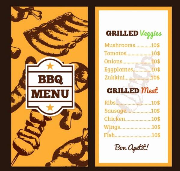 Bbq Catering Menu Template Luxury 9 Easter Menu Templates Printable Jpg Psd Eps format